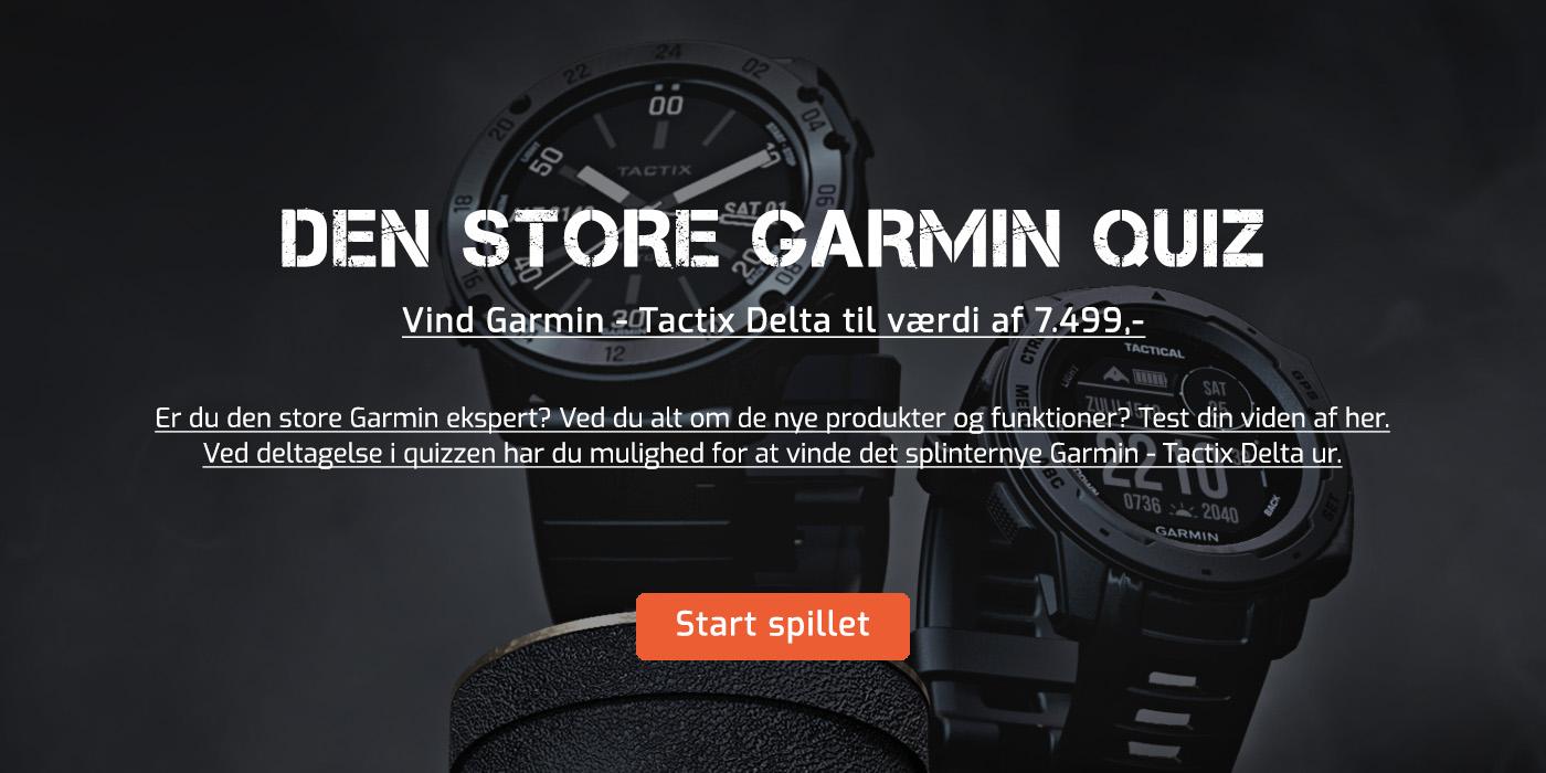 Deltag i konkurrencen om et Garmin - Tactix Delta til værdig af 7499 DKK